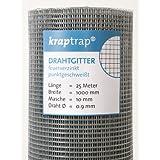 KrapTrap® Volierendraht, Drahtgitter, 10.6 mm Masche, 100 cm Breite, 25 m Länge