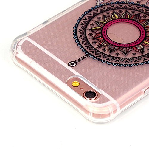 iPhone 6 Plus Coque,iPhone 6S Plus Case - Felfy Ultra Mince Scintiller Glitter Bling Shiny Paillette Coque Back Cover Silicone TPU Etui Housse Slim Cover Etui de Protection Cas en caoutchouc en Ultra  campanule