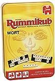 Jumbo 03974 - Original Rummikub Wort Kompakt in Metalldose