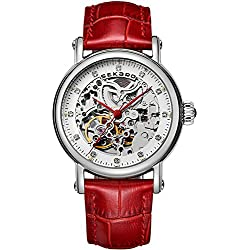 Automatic mechanical watches/ strap waterproof watch/Fashion cut watch-C