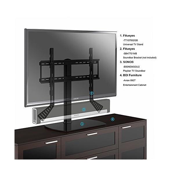 c179def6179af6 Fitueyes Meuble Télé Pied Support TV Pivotant pour Télé LED Ecran PC de 32  pouce ...