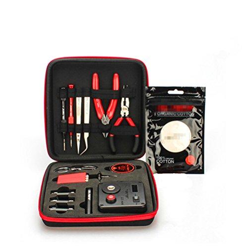 WYCY DIY Tool Kits Handwerkzeug Sets mit 521 Tab Mini Ohm Reader/Pinzette/Hitzebeständige Draht Neueste Tool Kits