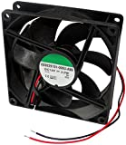 AERZETIX: Ventilateur pour boîtier d'ordinateur PC 12V 92x92x25mm 87,55m3/h 34dBA 3000rpm 28AWG