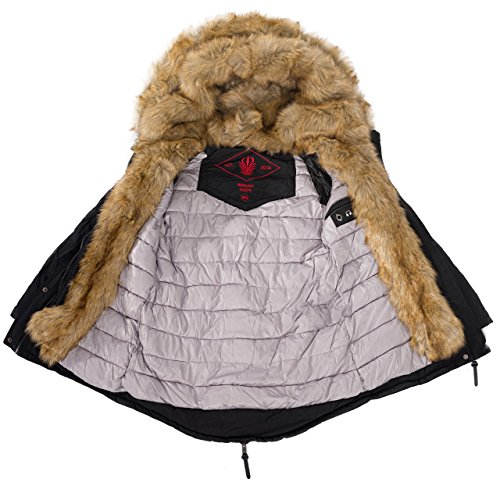 Navahoo 2in1 Damen Winter Jacke Parka Mantel Winterjacke warm Fell B365.  B365. B365. B365 9f308af2fc
