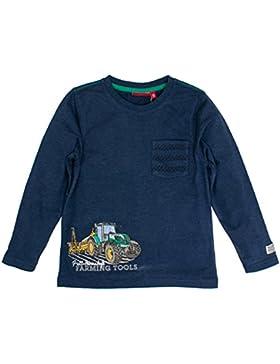 Salt & Pepper Longsleeve Farm Work Pocket, T-Shirt Bambino