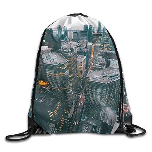 DHNKW United States Print Drawstring Backpack Rucksack Shoulder Bags Gym Bag Sport Bag
