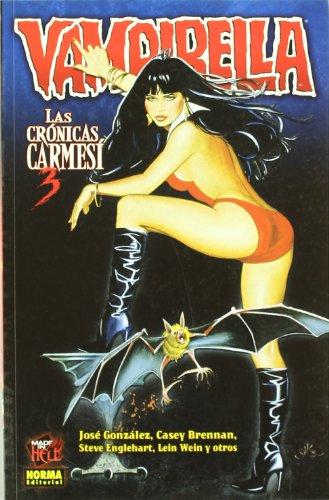 Vampirella, Las crónicas carmesí 3 Cover Image