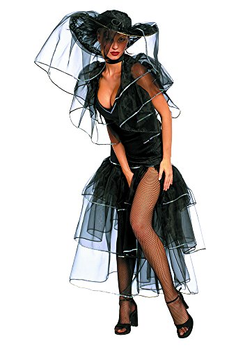 Unbekannt Stamco - Schwarze Witwe Damen Kostüm (Size 1 ()
