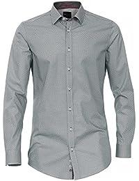 Venti Herren Businesshemd 162546900 Kentkragen 100% Baumwolle - Body Fit