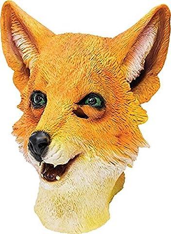 Adultes Fantaisie Fete De La Jungle Halloween Noël Animaux Noël Vêtement De Soirée Cosplay Masque - Mr Fox, One