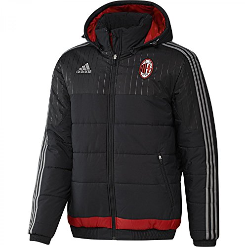 2015-2016 AC Milan Adidas Padded Jacket (Black)