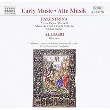 Palestrina-allegri choral work
