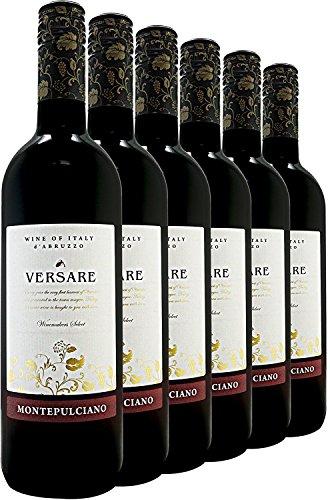 Versare Montepulciano D'Abruzzo Wine, 75 cl (Case of 6)