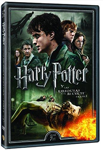 Harry Potter Y Las Reliquias De La Muerte Parte 2. Nueva Carátula [DVD]