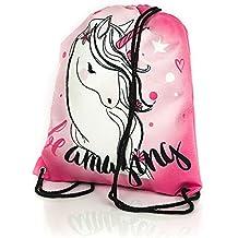 Diamond Unicorn Collection bolso de lazo de moda con unicornio/mochila escolar con unicornio/