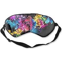 Colorful Artistic Flowers Sleep Eyes Masks - Comfortable Sleeping Mask Eye Cover For Travelling Night Noon Nap... preisvergleich bei billige-tabletten.eu