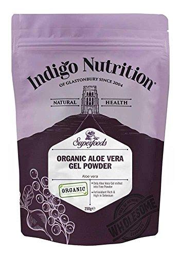 Indigo Herbs Poudre d'Aloe Vera Bio 250g
