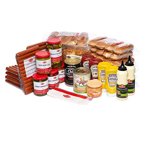 HOT DOG WORLD - Beef Hot Dog Party-Paket 72 Stück