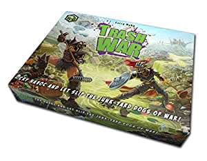Trash War - Fun, Family Friendly Card Game of Medieval Junkyard Combat by Gangrene Games