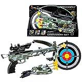 15000P Archery Set Kinder Schießspiele Bogenschießen Pfeil und Bogen Armbrust