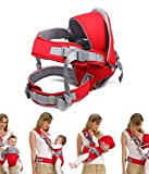 Krevia Deluxe Premium Ultra Comfortable Baby Carrier Baby Sling Baby Seat (Colour May Vary)