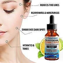 Sérum de ácido hialurónico puro con 30% de vitamina C, ácido retinoico, vitamina