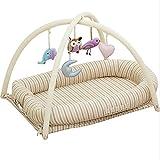 YL-Light Reisebetten Neugeborenes Baby Wiege Bett Spiel Bett Verhindern, DASS Ihr Baby Abgequetscht Abnehmbar, In EIN Schwangeres Kissen