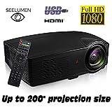 Seelumen PJW100 - Proyector )Full HD 1080P, 3200 Lúmenes,...