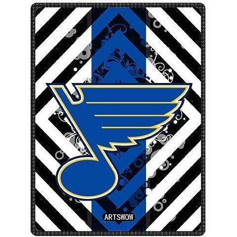 ARTSWOW NHL con Logo St. Louis Blues-Coperta