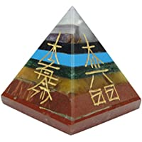 Harmonize Multistone Pyramide Reiki Healing Kristall Karuna Symbol-Energie-Generator Spiritual Geschenk preisvergleich bei billige-tabletten.eu