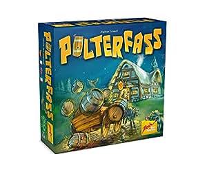 Zoch 601105057 - Polterfass, Würfelspiel