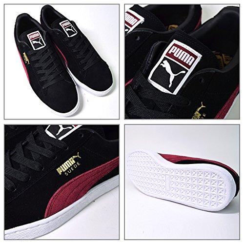 Puma Suede Classic + Black Red