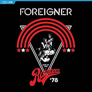 Foreigner - Live At The Rainbow '78  (+ CD) [Blu-ray]