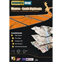 Memory-Map V5 Munros ¿ South Highlands OS 1:25,000