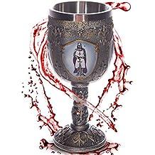"""Cáliz """"Caballeros de la Mesa Redonda"""" - Decoración medieval fantasía fantástico"""