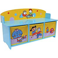 Cijep Fun House - 712 184 - Muebles y Decoración - Tchoupi - De Banco Con Storage Bins