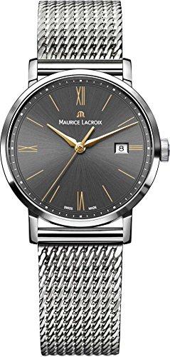 Maurice Lacroix Eliros EL1084-SS002-813-1 30mm Silver Steel Bracelet & Case Synthetic Sapphire Women's Watch