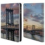Head Case Designs Manhattan Bridge Skylines Der Städte Brieftasche Handyhülle aus Leder für iPad Mini 1 / Mini 2 / Mini 3