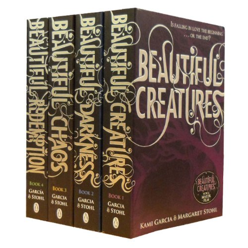 Beautiful Creatures Collection Kami Garcia Margaret Stohl 4 Books Set (Beauti...