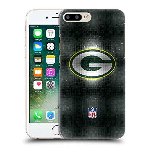 Offizielle NFL Marmor 2017/18 Green Bay Packers Ruckseite Hülle für Apple iPhone 6 Plus / 6s Plus LED