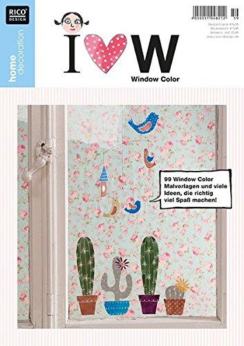 home decoration No. 59 I love Window Color: 99 Window Color Malvorlagen und viele Ideen, die richtig viel Spaß machen!