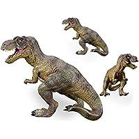 LU2000 sólida dinosaurio de simulación de modelo Tyrannosaurus plástico animales juguetes dinosaurio colección ...
