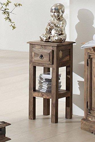 MASSIVMOEBEL24.DE Massivmöbel Kolonialstil Palisander geölt Beistelltisch Sheesham grau Kolonial massiv Holz Möbel LEEDS #23