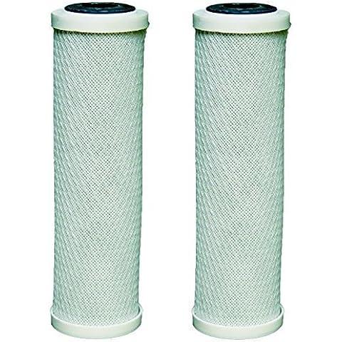 Cartuchos de filtro de agua de 2 x de carbono cabe todos 10