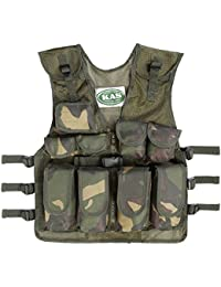 Kids Army Camouflage Assault Vest - Fits Ages 5-14