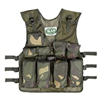 Kids Army Camouflage Assault Vest - Fits Ages 5-14 3
