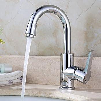 Homelody 360° Drehbar Mischbatterie Chrom Wasserhahn Küche Bad ...