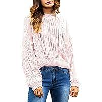 Hanomes Damen pullover, Damen Plus Size Winter Langarm Sweatshirt Pullover Top Tunika Bluse preisvergleich bei billige-tabletten.eu
