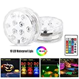 Allouli Aquarium Colorful Lights for Decoration Water LED Submersible Underwater Fish Tank Light£¨no Battery£©