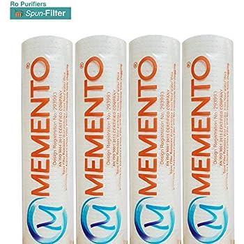 AMPEREUS 5 Micron Spun Filter for RO Water Purifier (Pack of 5